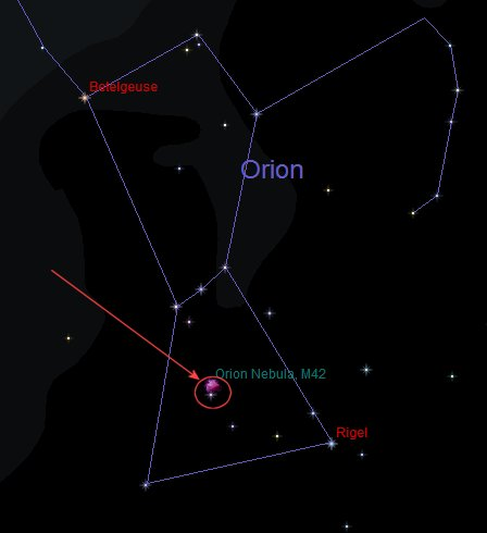 eskimo nebula location orion - photo #49